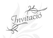invitació