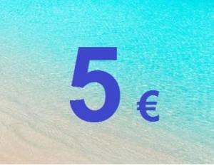 5€ descompte