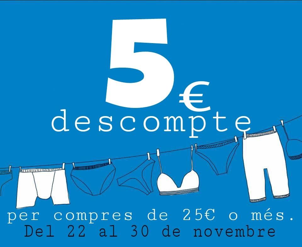 5€ decompte