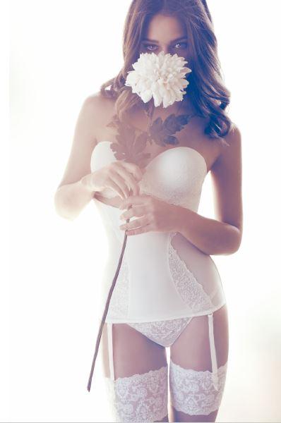 corsé núvia i flor