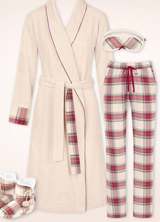 pijama batí botes homewear