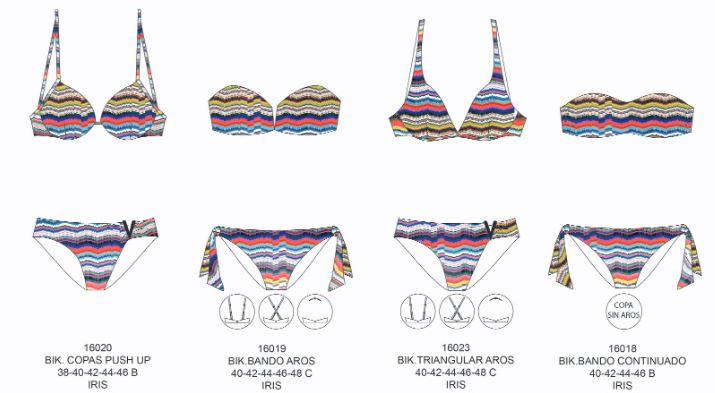 tècnic de missoni bikinis